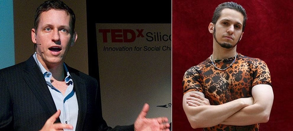 Foto: Peter Thiel y Patri Friedman, principales impulsores de las denominadas ciudades flotantes. (Seasteading)