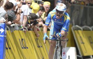 """La """"misión de paz"""" de Andriy Grivko, un ucraniano de Crimea en el Tour de Francia"""