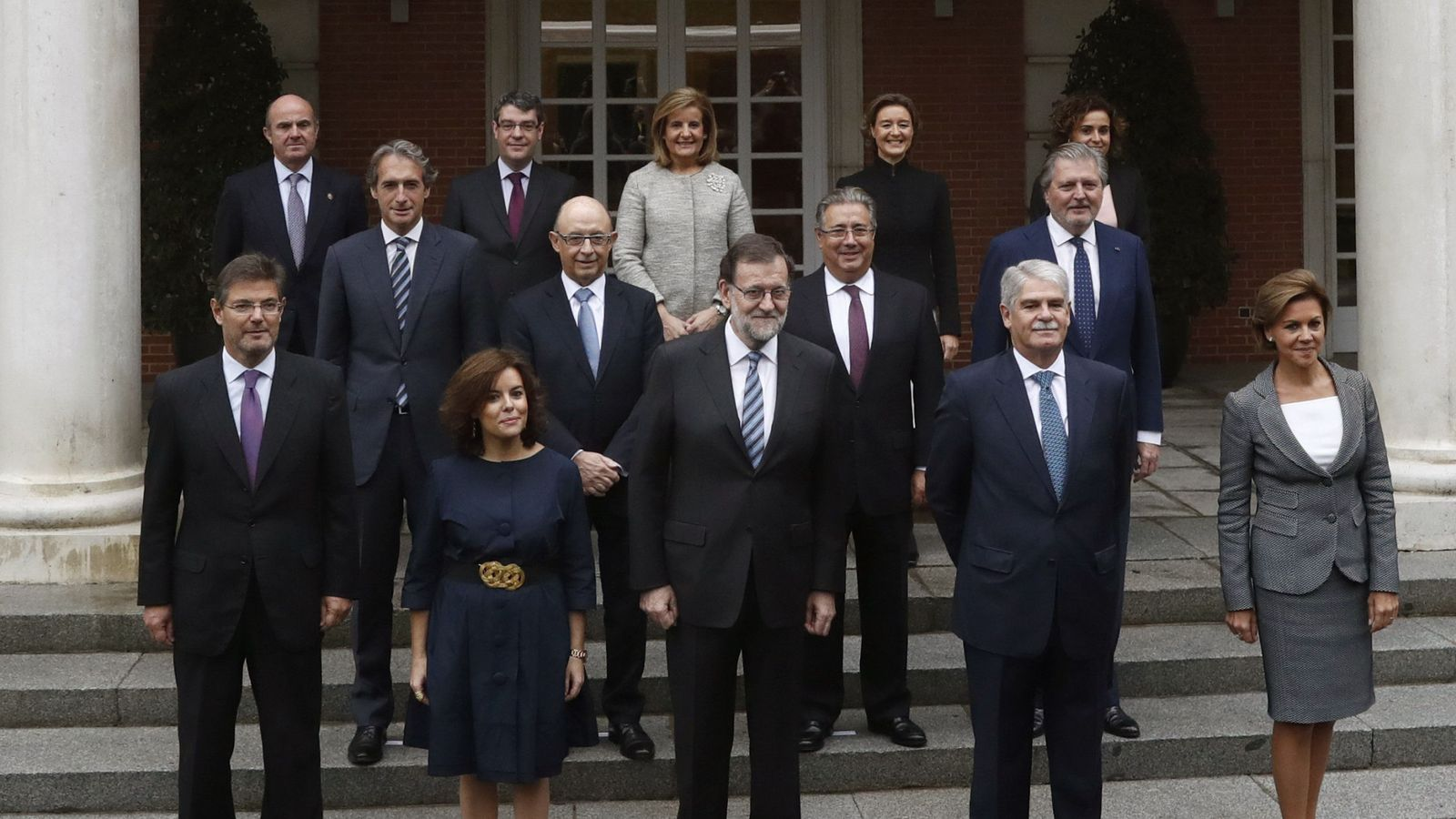 Nuevos ministros gobierno rajoy los nuevos ministros for Ministros de espana