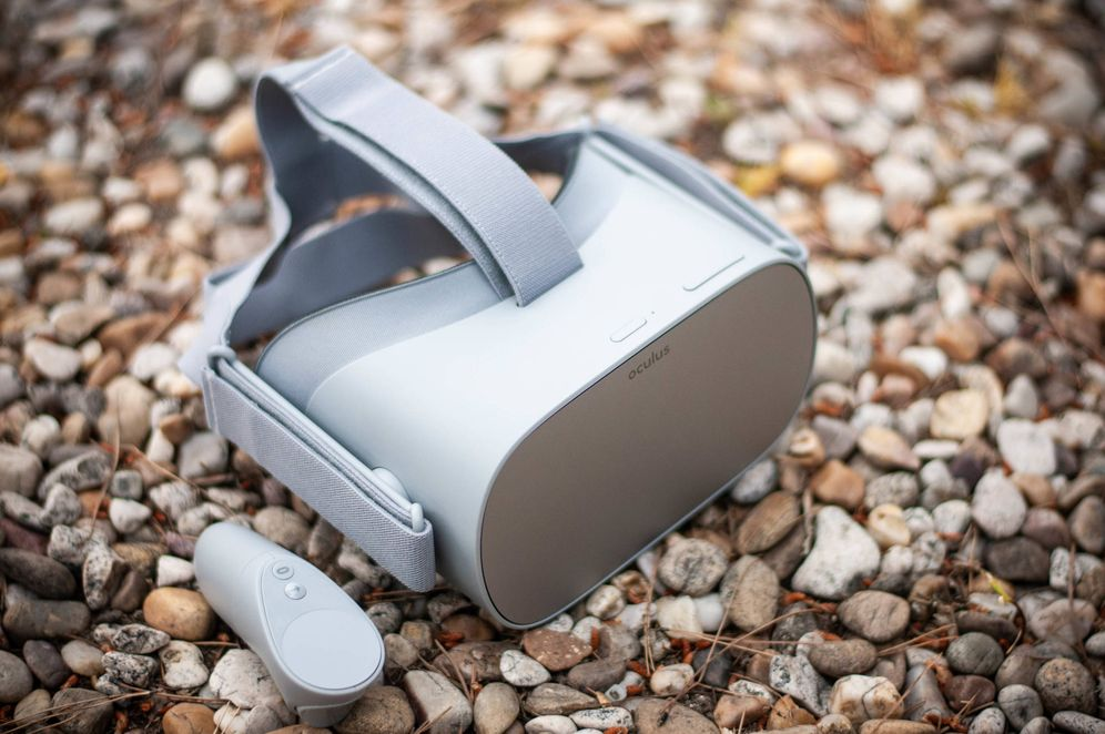 Foto: Oculus Go. (Carmen Castellón)