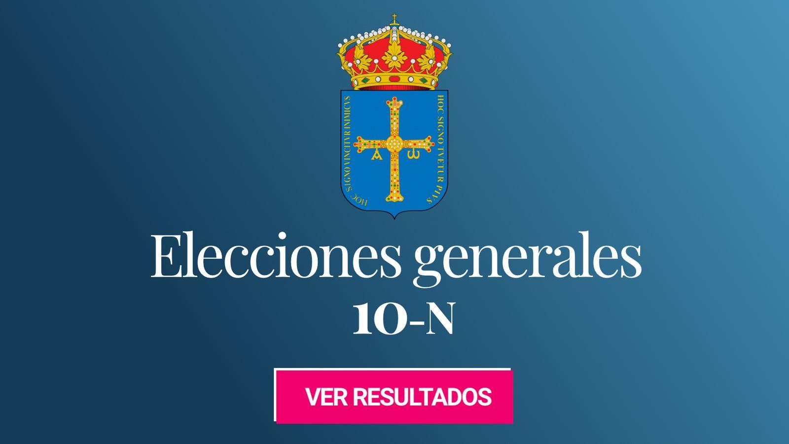 Foto: Elecciones generales 2019 en la provincia de Asturias. (C.C./HansenBCN)