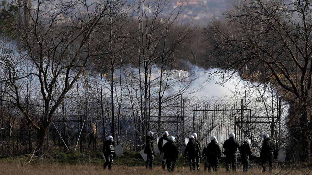 España acude al auxilio de Grecia en la frontera turca con un avión de la Guardia Civil