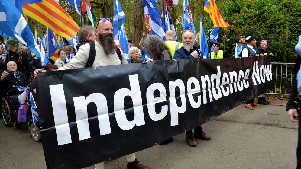 Foto: Miles de escoceses reclaman un nuevo referéndum. (EFE)