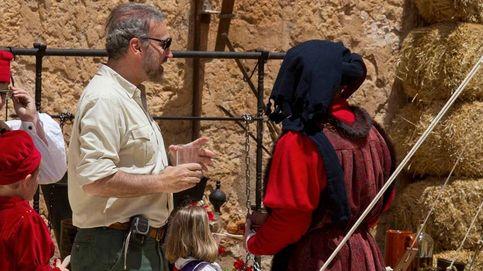 Javier Soto, volcado en su castillo medieval tras su divorcio