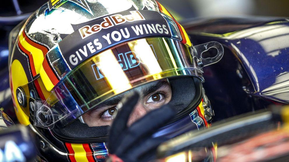 ¡Los coches se van y no me dejáis pasar a Sainz, esto es una jodida broma!
