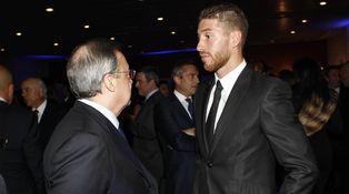 Florentino Pérez está harto de las constantes filtraciones del entorno de Sergio Ramos
