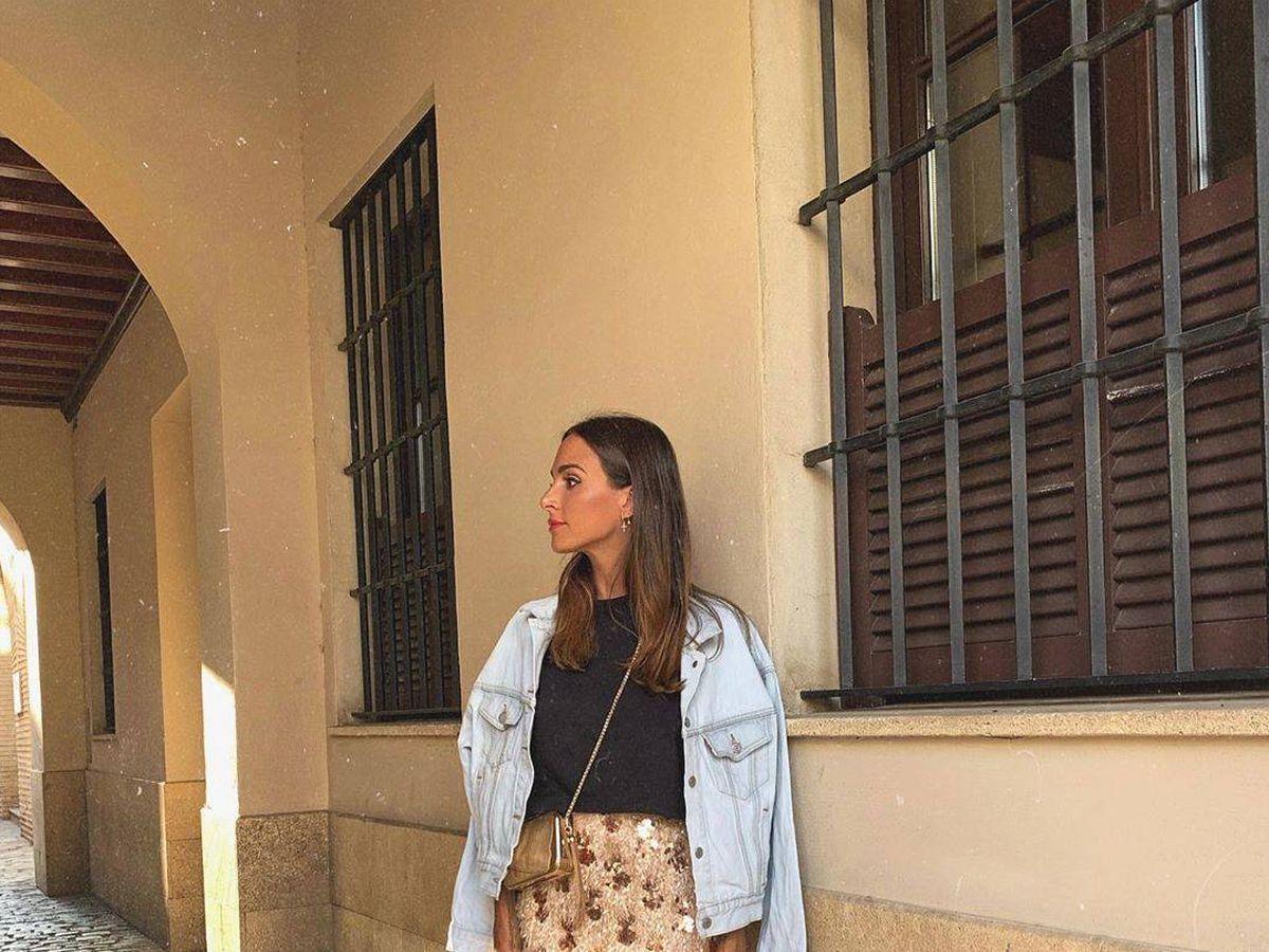 Foto: El look de Rocío Osorno. (Instagram @rocio0sorno)