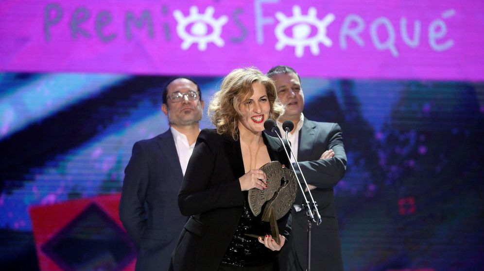 Foto: Carlota Pereda, una de las ganadoras el año pasado de los Premios Forqué