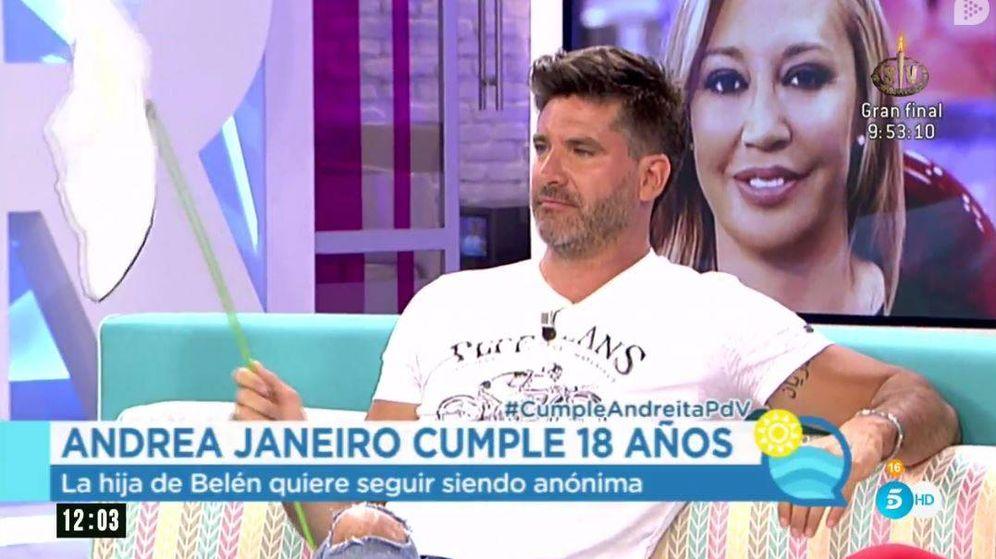 Foto: Toño Sanchís le regala una tregua a Esteban por el cumpleaños de su hija.