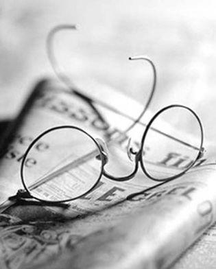 Foto: Los ojos miran distintas letras a la vez durante la lectura
