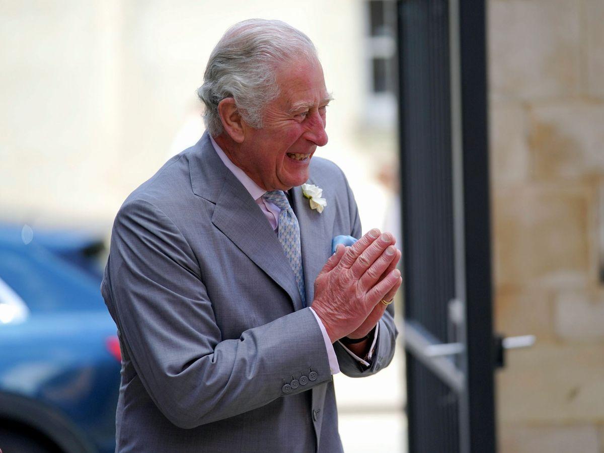 Foto: El príncipe Carlos, este martes en Oxford. (Reuters)