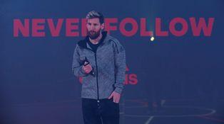 Messi, unas botas rosas... y ninguna pregunta para sacarnos de dudas