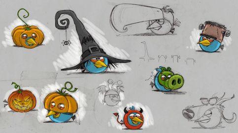 El español que dibujó a los Angry Birds: creció en falso, creció demasiado
