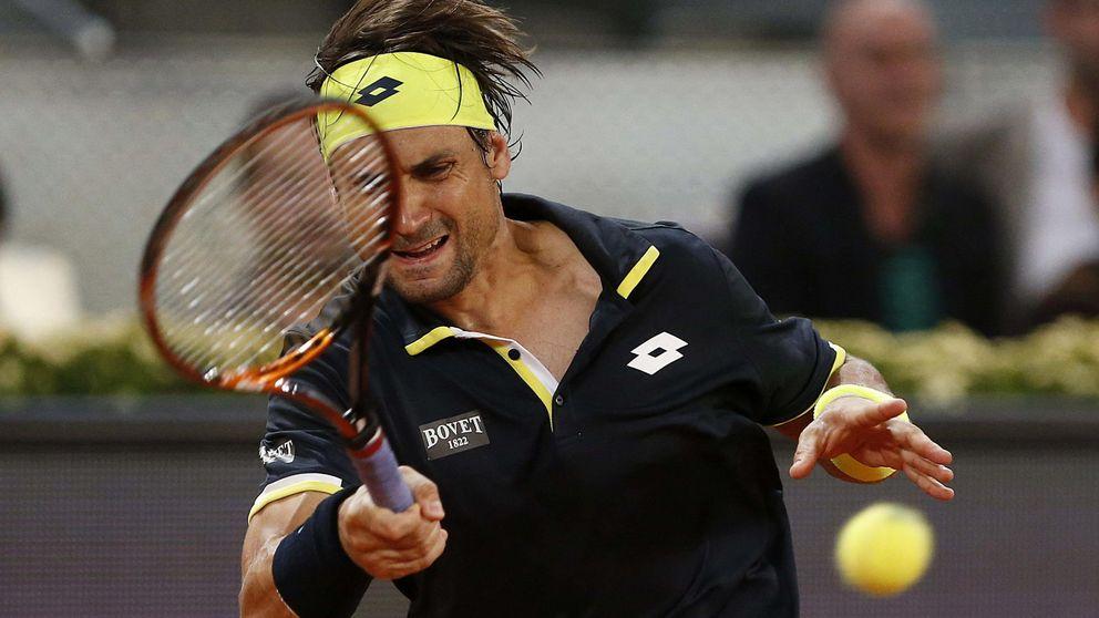 David Ferrer se mete en semifinales de Roma, donde se medirá ante Djokovic