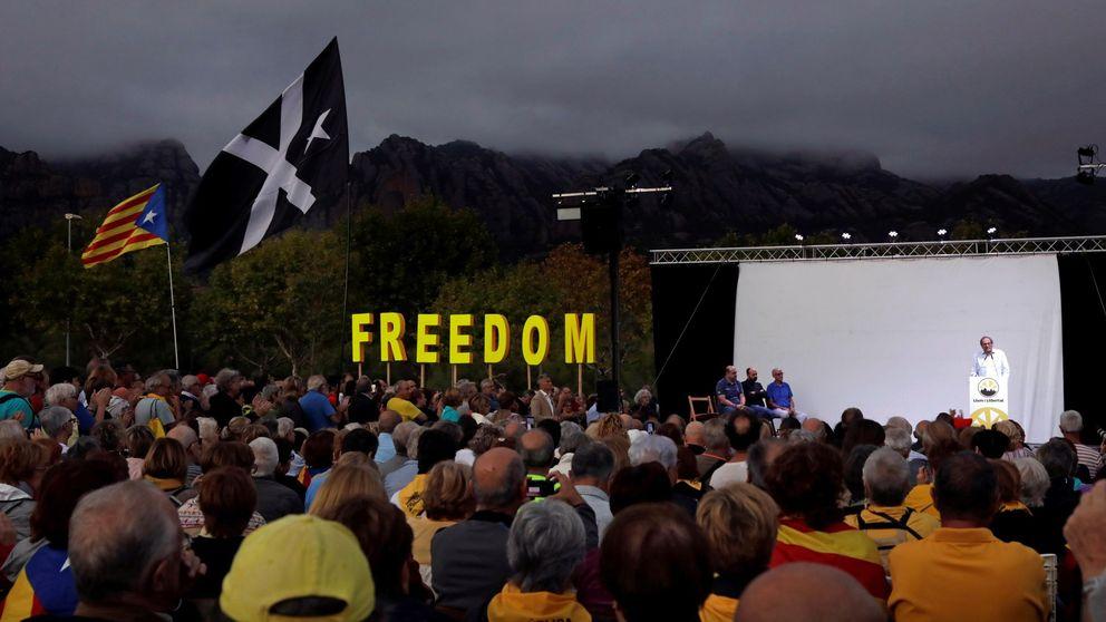 Última hora del 1-O en Cataluña: protestas en el aniversario del referéndum