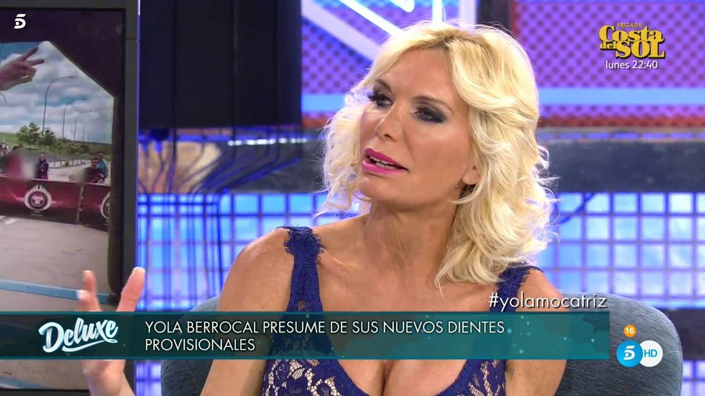 Yola Berrocal, estafada de nuevo por Jorge Javier Vázquez en 'Sábado Deluxe'