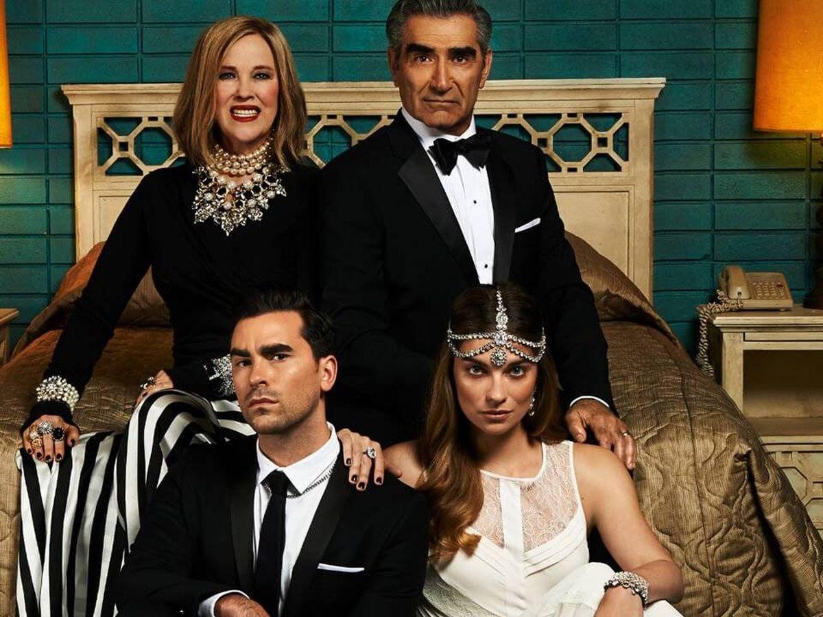 Foto: Los protagonistas de 'Schitt's Creek'. (CBC)