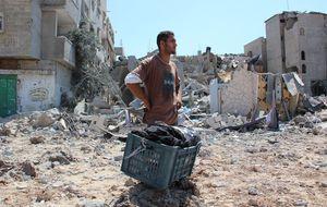 Recorrido por una Gaza en ruinas en una tregua intermitente
