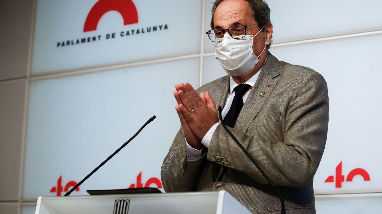 Quim Torra busca una manera de dar empaque a su salida de la Generalitat