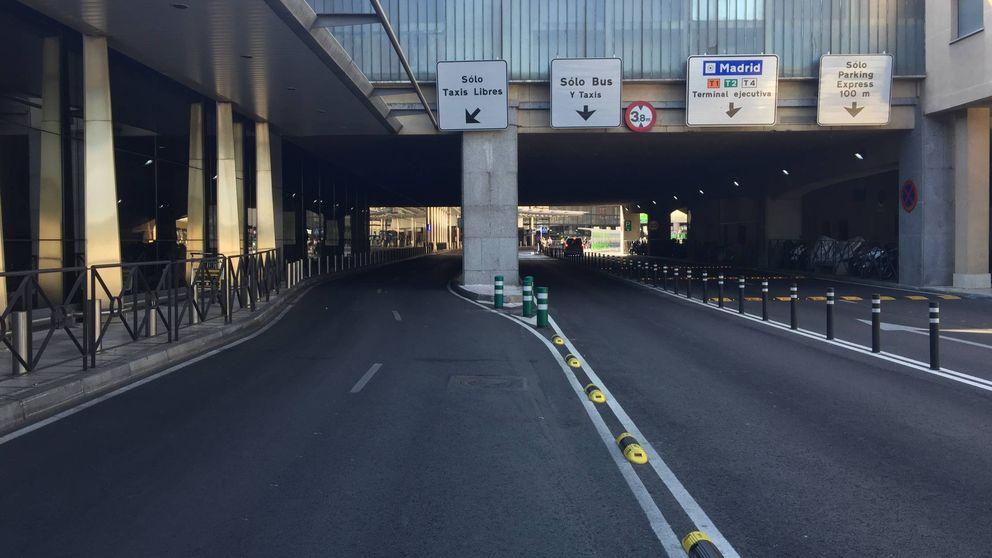 Taxis contra Uber y Cabify: la huelga de taxistas en España, en imágenes