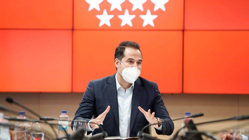 Foto: El vicepresidente de la CAM, Ignacio Aguado. (Comunidad de Madrid)