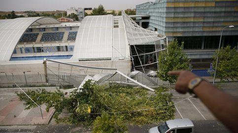 Una fuerte tormenta en Madrid deja varios heridos y árboles caídos