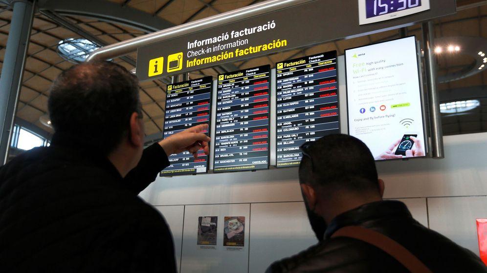 Foto: Imagen de archivo del aeropuerto de Alicante. (EFE)