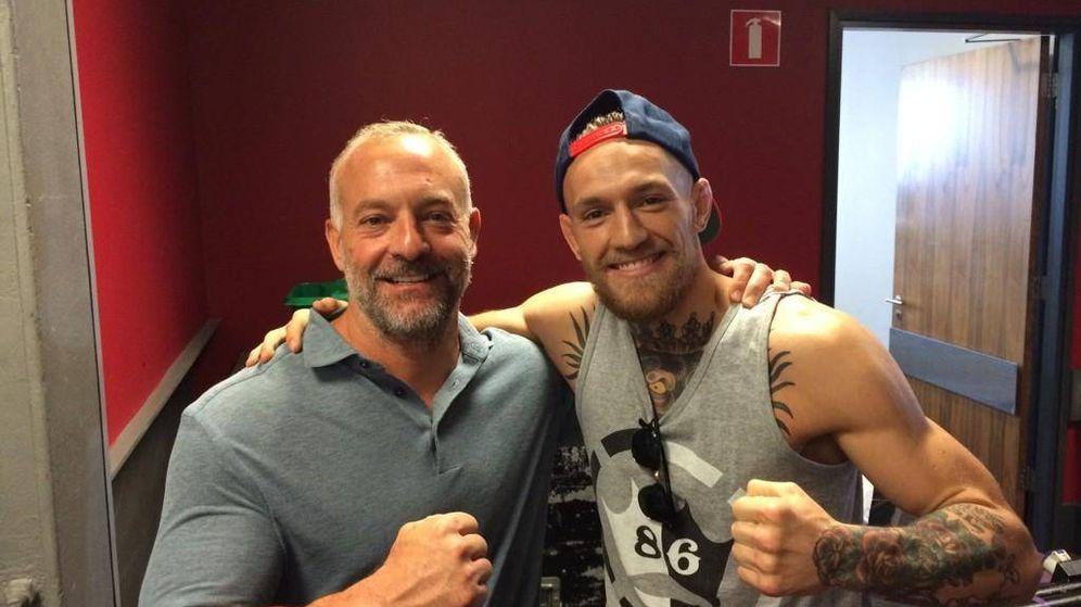 Foto: Lorenzo Fertitta junto a Conor McGregor. (Twitter @LorenzoFertitta)