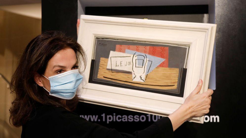 Foto: 'Naturaleza muerta', de Pablo Picasso, ya tiene nueva propietaria por solo 100 euros (Reuters/Charles Platiau)