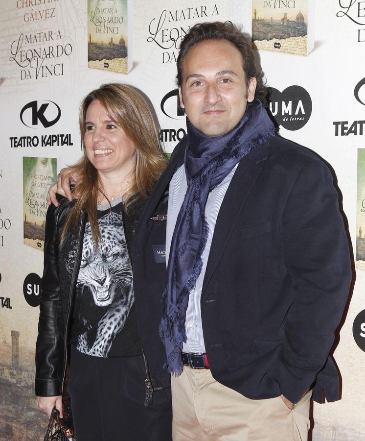Foto: Carmen Porter y su marido, Iker Jiménez.