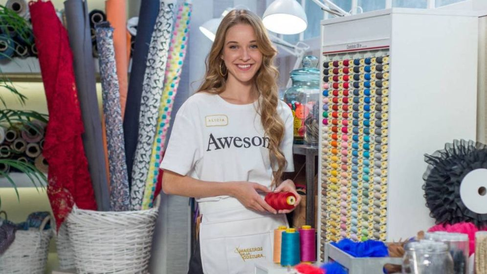 Foto: Alicia, ganadora de 'Maestros de la costura'