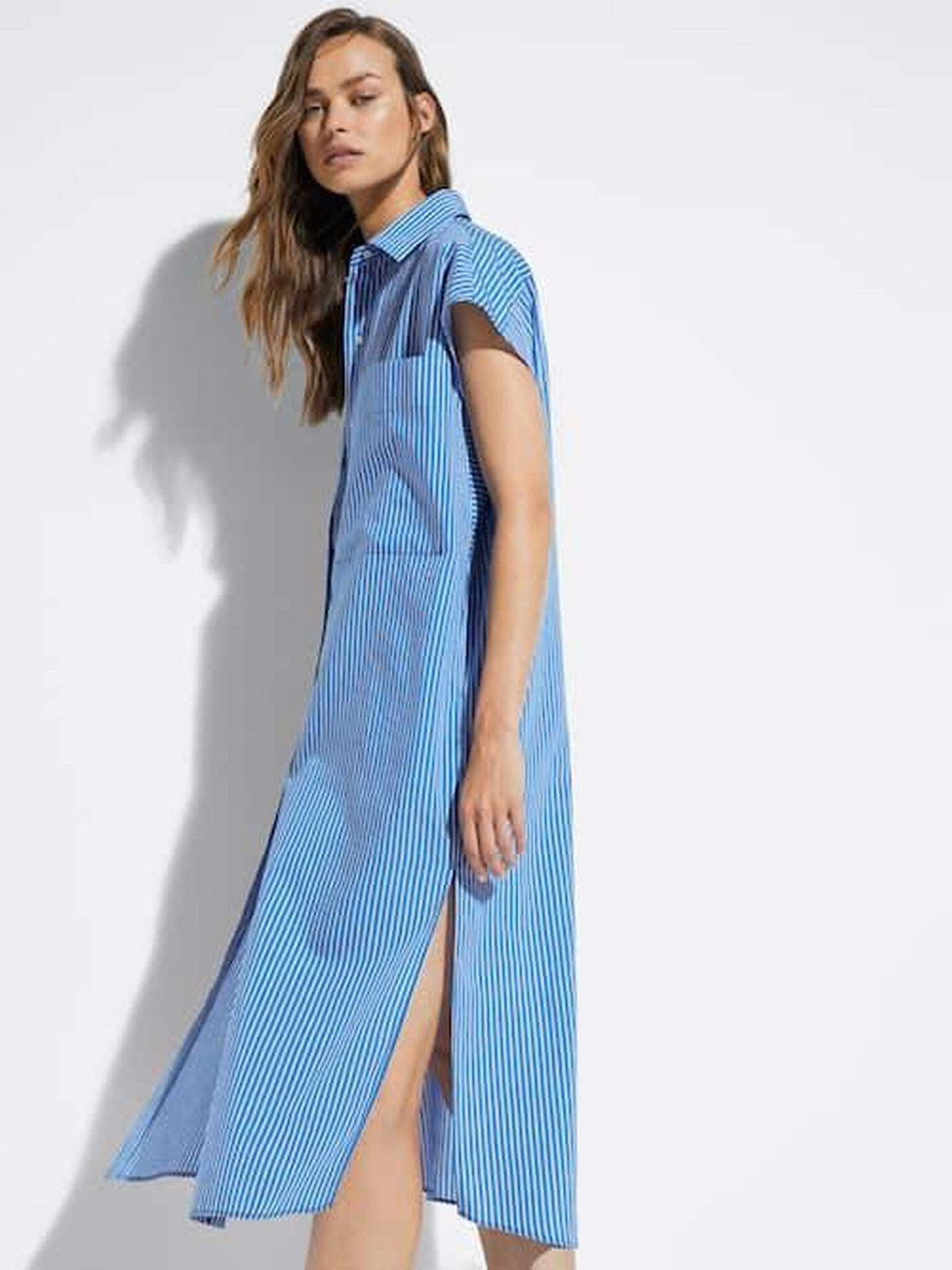 El vestido de Masssimo Dutti. (Cortesía)