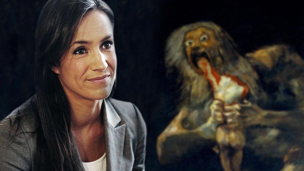 Foto: Para Begoña Villacís el Saturno de Goya es la mejor imagen del canibalismo político