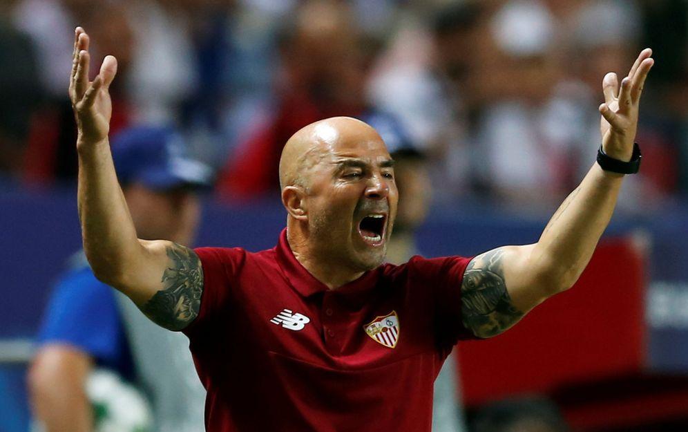 Foto: Jorge Sampaoli vive sus últimas semanas como entrenador del Sevilla. (Reuters)