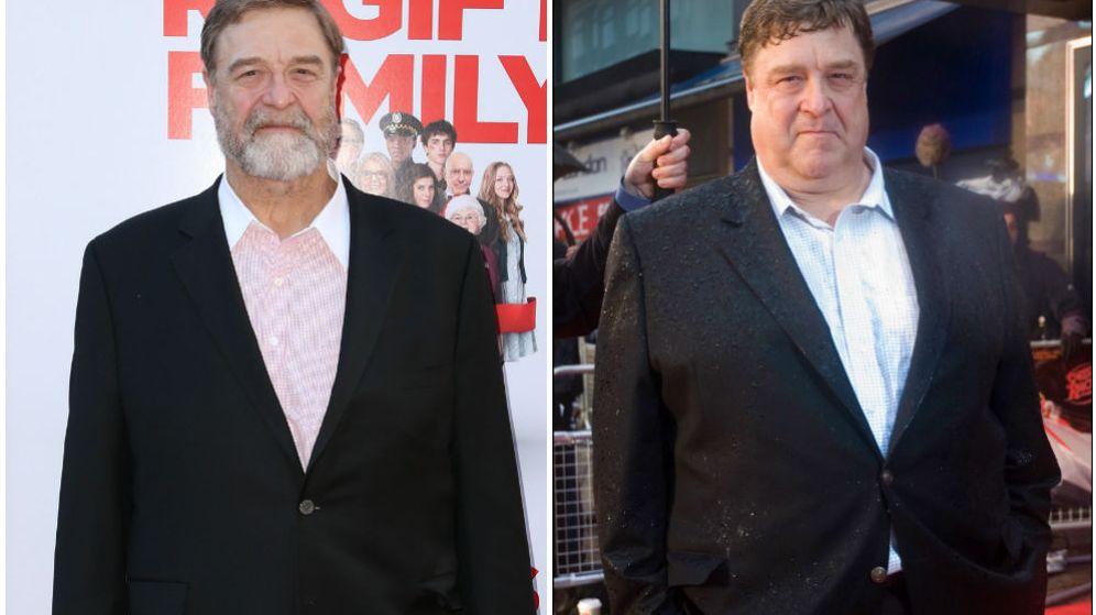 Foto: Después y antes de John Goodman.