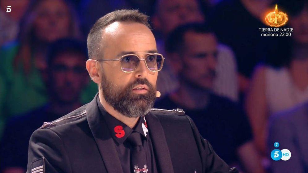Foto: Risto Mejide, en 'Got Talent'. (Telecinco)