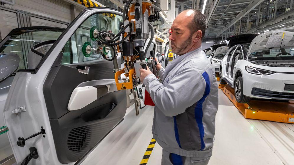 Foto: Planta de producción de Volkswagen. (EFE)