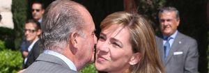 Foto: La infanta Cristina lleva un año negociando su renuncia con el Rey