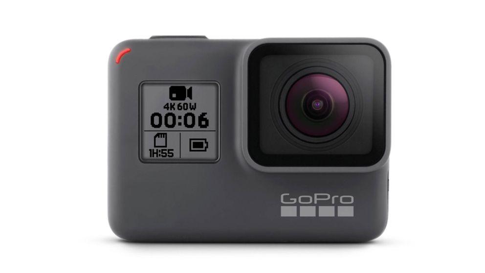 La aventurera Cámara GoPro
