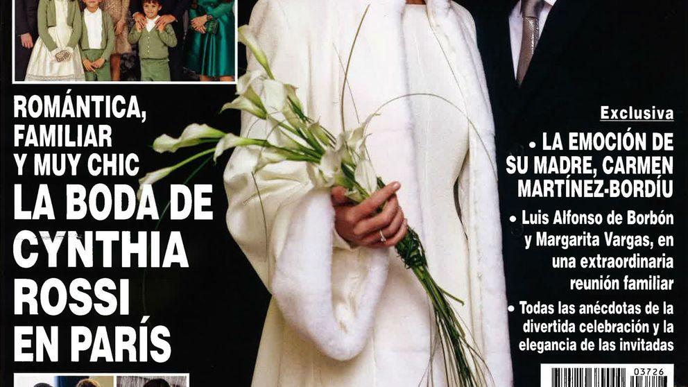 10 curiosidades de la boda de Cynthia Rossi, hija de Carmen Martínez-Bordiú, en París