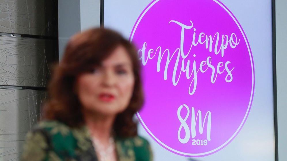 Foto: La vicepresidenta del Gobierno, Carmen Calvo (Efe)