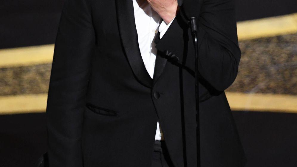Foto: La emoción de Joaquin Phoenix. (Getty)