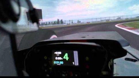 Súbete al simulador de McLaren con Fernando Alonso