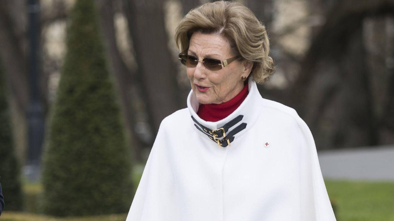 Foto: La reina Sonia de Noruega en una imagen de archivo (Gtres)