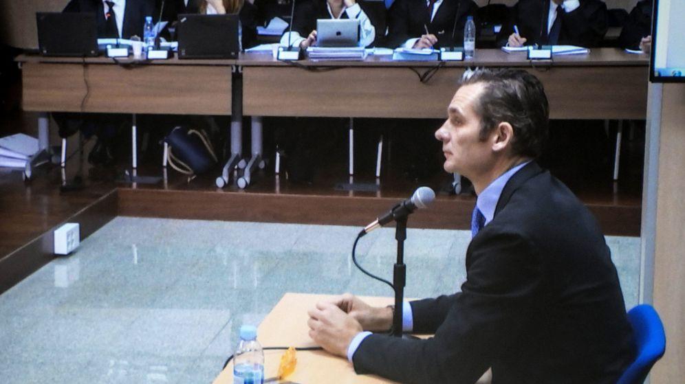 Foto: Urdangarin continúa su declaración en el juicio del caso Nóos. (EFE)