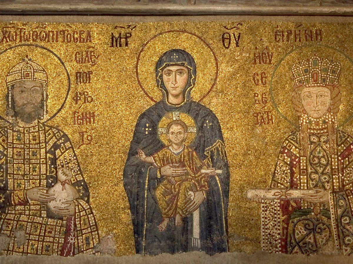 Foto: Un mosaico bizantino. (Luis Ángel/Flickr)