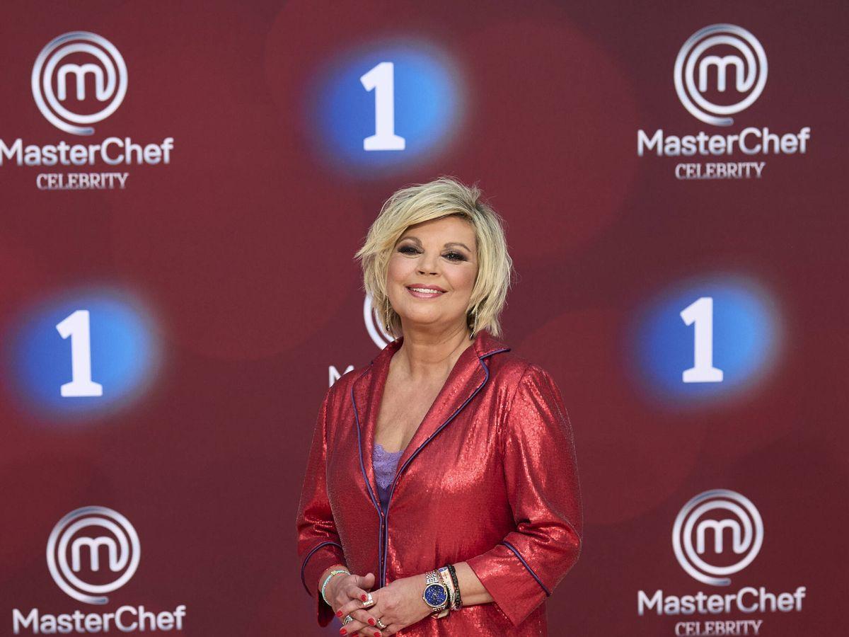 Foto: Terelu Campos, durante la presentación de 'MasterChef Celebrity'. (Getty)