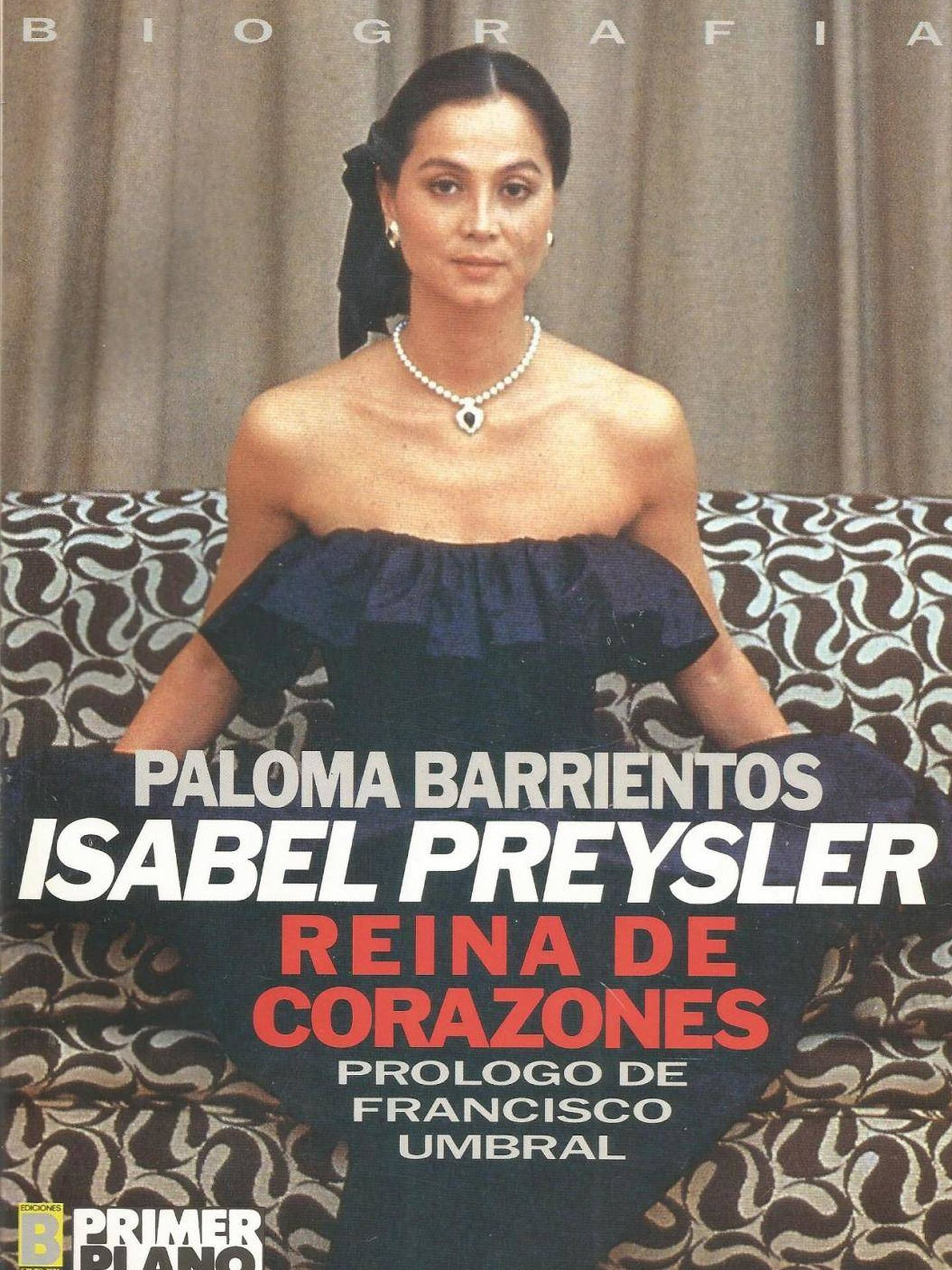 Portada de la biografía 'Isabel Preysler, reina de corazones'.
