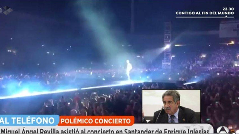 El presidente de Cantabria habla con 'Espejo público'.