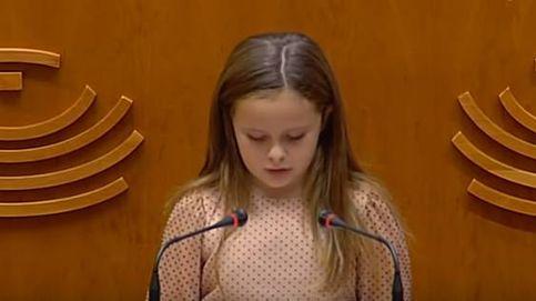 La lección de Elsa, niña 'trans', a los políticos del parlamento extremeño